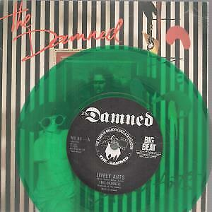 "DAMNED (PUNK) Lively Arts 7"" VINYL Green Vinyl B/w Teenage Dream (ns80) Pic Sl"