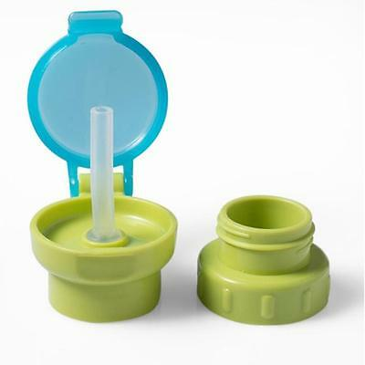 Choking Sippy Cup Baby Feeding Water Drink Leak Proof Bottle With Straw LD
