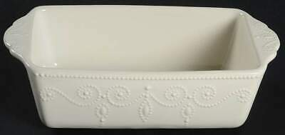 Lenox FRENCH PERLE WHITE Loaf Pan 10321320