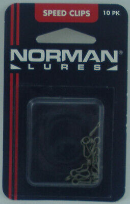 NIP Norman Speed Clips 10 pack 0581