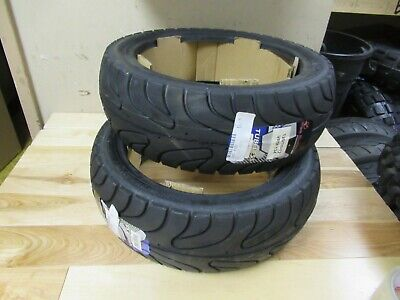 Gets Two  Vee Rubber Scooter Tire - 120/70-12 51L Vrm134 Tubeless - Current 2017