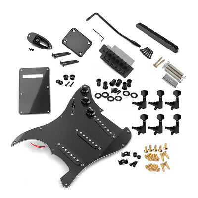 ST Style Electric Guitar Full Set DIY Accessory Kit Including Prewired K0K5