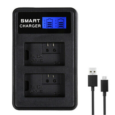 Smart NP-FW50 Battery Charger For Sony A6300 A6000 A5000 A3000 Alpha A7 UK Stock