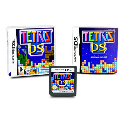 Nintendo DS Game Tetris DS in Original Package with Guide