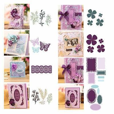 Lace Border Metal Cutting Dies Stencil Scrapbooking Album DIY Embossing Cafts