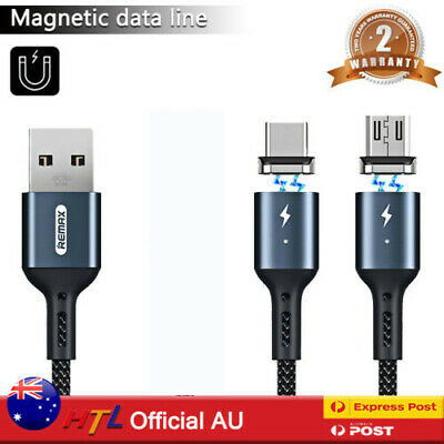 REMAX Magnetic Fast Charging Cable Type C Micro Lightning Magnetic Head/Plugs