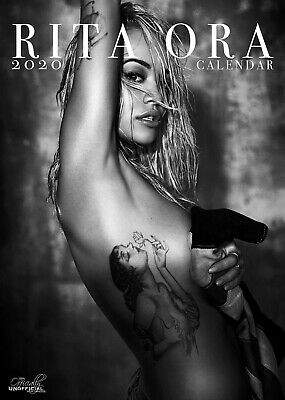 Rita Ora 2020 Pin Up Wall Calendar