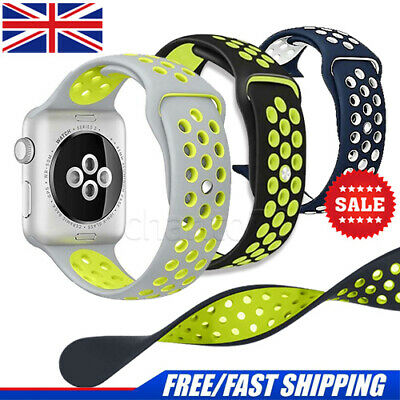 iBand for Apple Watch Strap 42MM 38MM, Soft Mesh Silicone Sport iwatch wristband