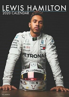 Lewis Hamilton 2020 Pin Up Wall Calendar : Formula One Champion & Legend