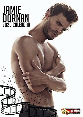 Jamie Dornan 2020 Pin Up Hollywood Idols Wall Calendar : 50 Shades Star