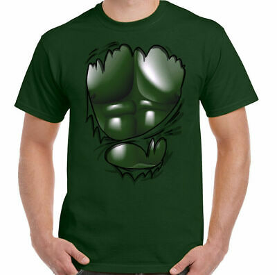 Hulk T-Shirt The Muscle Gym Training Top Weight Training Bodybuilding MMA Ripped