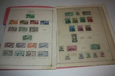 LEBANON LOT of 300+ Stamps on Album Pages FROM 1950s 60s Includes Airmail ETC