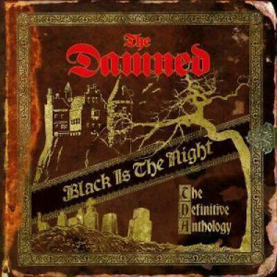 DAMNED (PUNK) Black Is The Night: The Definitive Anthology DOUBLE CD 39 Track