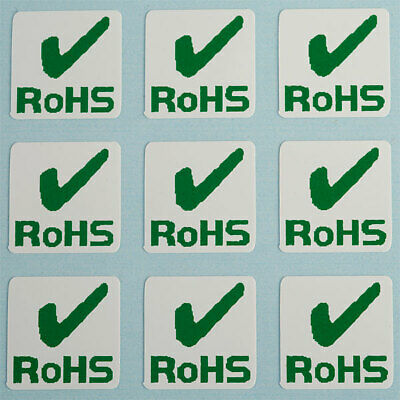 Customark RoHS Labels 10 x 10mm - Pack of 500