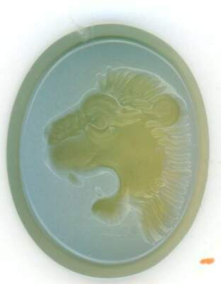 Roman Style Two Layer Agate  Intaglio Signet Seal