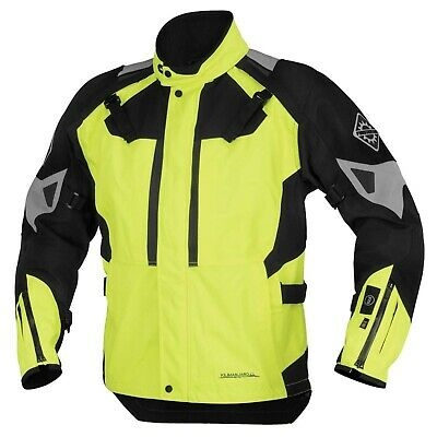 Nos Firstgear 510744 37.5 Kilimanjaro Textile Jacket Dayglo Size Womens Md