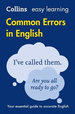 Collins Common Errors in English (Collins Easy Learning) (Paperba...