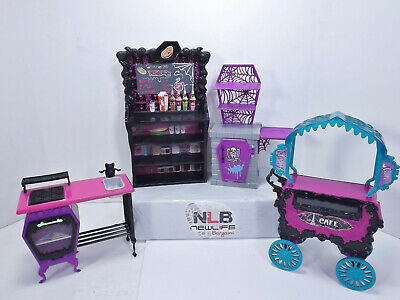 Monster high Doll Playset Furniture Lot of 4