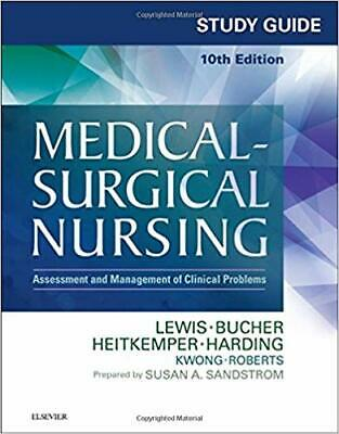 STUDY GUIDE Medical Surgical Nursing 10th Edition by Lewis {P.D.F}