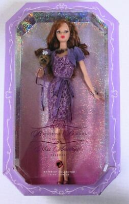 Miss Amethyst Barbie Doll (Birthstone Beauties Collection) (Pink Label) (NEW)