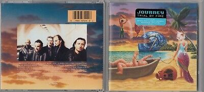 Journey - Trial by Fire (Rock) (CD 1996 Columbia (USA)) HYPE STICKER