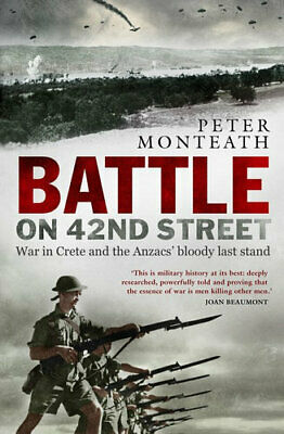 NEW Battle on 42nd Street By Peter Monteath Paperback Free Shipping