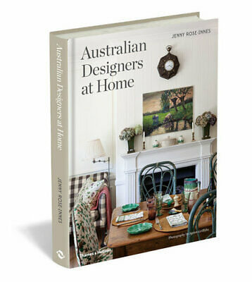 NEW Australian Designers at Home By Jenny Rose-Innes Hardcover Free Shipping