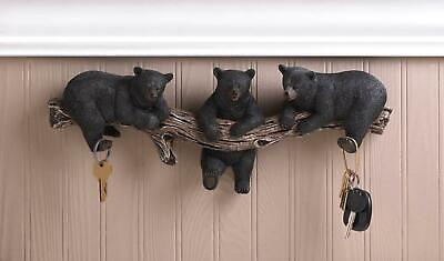 PP1820 Beware of BLACK BEAR Plate Rustic Chic Sign Home Store Wall Decor Gift