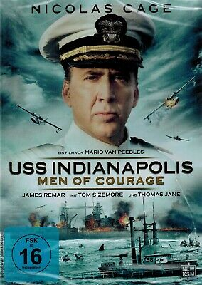 DVD NEU/OVP - USS Indianapolis - Men Of Courage - Nicolas Cage