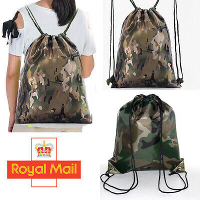 Gym Camouflage Prestonplayz drawstring bag,Gaming,swimming bag School bag