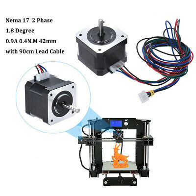 42Step Stepper Motor Nema 17 90cm Cable 40Ncm 0.9A 2-Phase f/3D Printer/CNC C4M2
