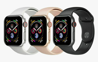 Apple Watch Series 4 - GPS - GPS + Cellular - 40MM 40MM - Space Gray - Silver -