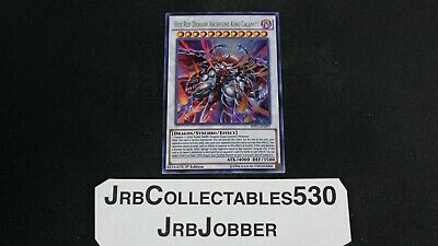 YuGiOh HOT RED DRAGON ARCHFIEND KING CALAMITY SHVI-EN097 1ST ULTRA X1