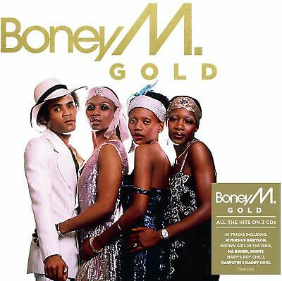 BONEY M GOLD 3 CD SET (49 TRACK COLLECTION) (New Release November 15th 2019)