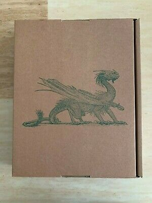 SIGNED Jim Kay Harry Potter and the Goblet of Fire: Deluxe Illustrated Slipcase