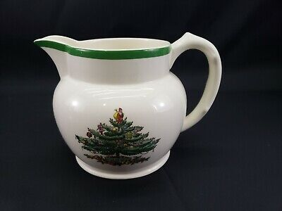 Spode England Christmas Tree Pattern 24 ounce Jug Pitcher
