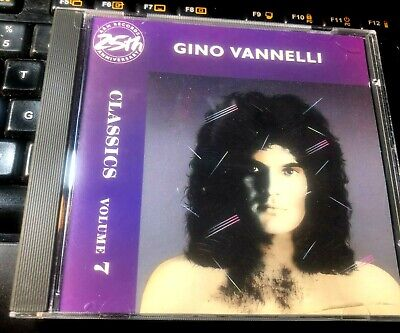 Classics Volume 7 The Best of  by Gino Vannelli (CD 1987 A&M) Greatest Hits