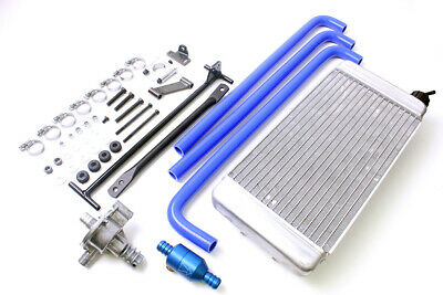 Go Kart Iame X30 Radiator Complete Kit W/ Hose, Fittings, Pump & Thermostat
