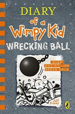 Official | Diary of a Wimpy Kid: Wrecking Ball  |  hardcover