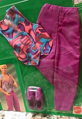 """BARBIE'S BFF KEN /""""MY FIRST FASHIONS/""""  Easy To Dress Casual Outfit # 3427 NRFB"""