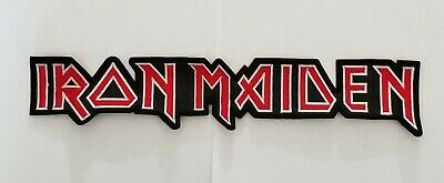 Iron Maiden Embroidered Back Patch