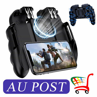 Mobile Phone Gaming Trigger Joystick Handle Controller Gamepad Fit PUBG Fortnite