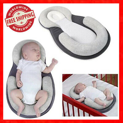 On Sale! SleepWELL Portable Baby Bed Crib Travel Sleep Pillow Folding Bed COTTON
