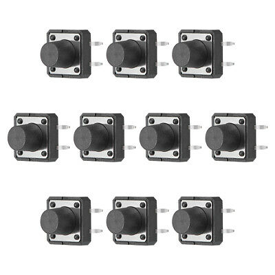 12x12x9mm Panel Micro PCB Momentary Tactile Tact Push Button Switch DIP 10PCS