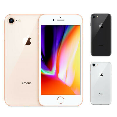 New Sealed Apple iPhone 8 64GB 256GB All Colors Factory Unlocked Smartphone