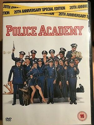 Police Academy DVD 1984 Comedy Movie Classic 20th Anniversary Special Edition