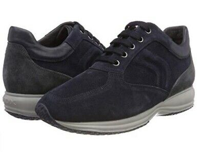 GEOX U Happy H Suede U4356H 0BS22 CF44N Colore navy