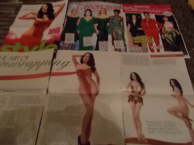 Dita Von Teese  Celebrity  Clippings Pack  Good Condition