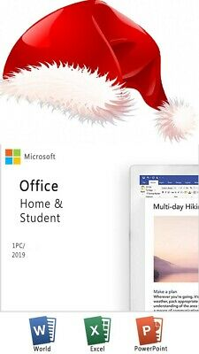 MS Microsoft Office Home and Student 2019 / for Windows / Original Key