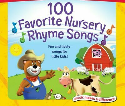 100 Childrens Singalong Songs & Nursery Rhymes Audio CD FREE P&P 2CD Set